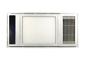 集成吊顶多功能浴室卫生间浴霸双核取暖器五合一空调型节能浴霸