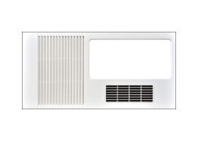 多功能风暖卫生间空调浴霸加盟